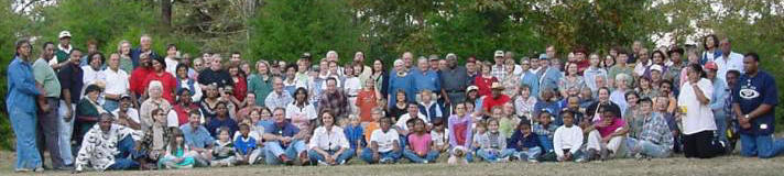2001 Barbecue Group, photo by Hobson Cox